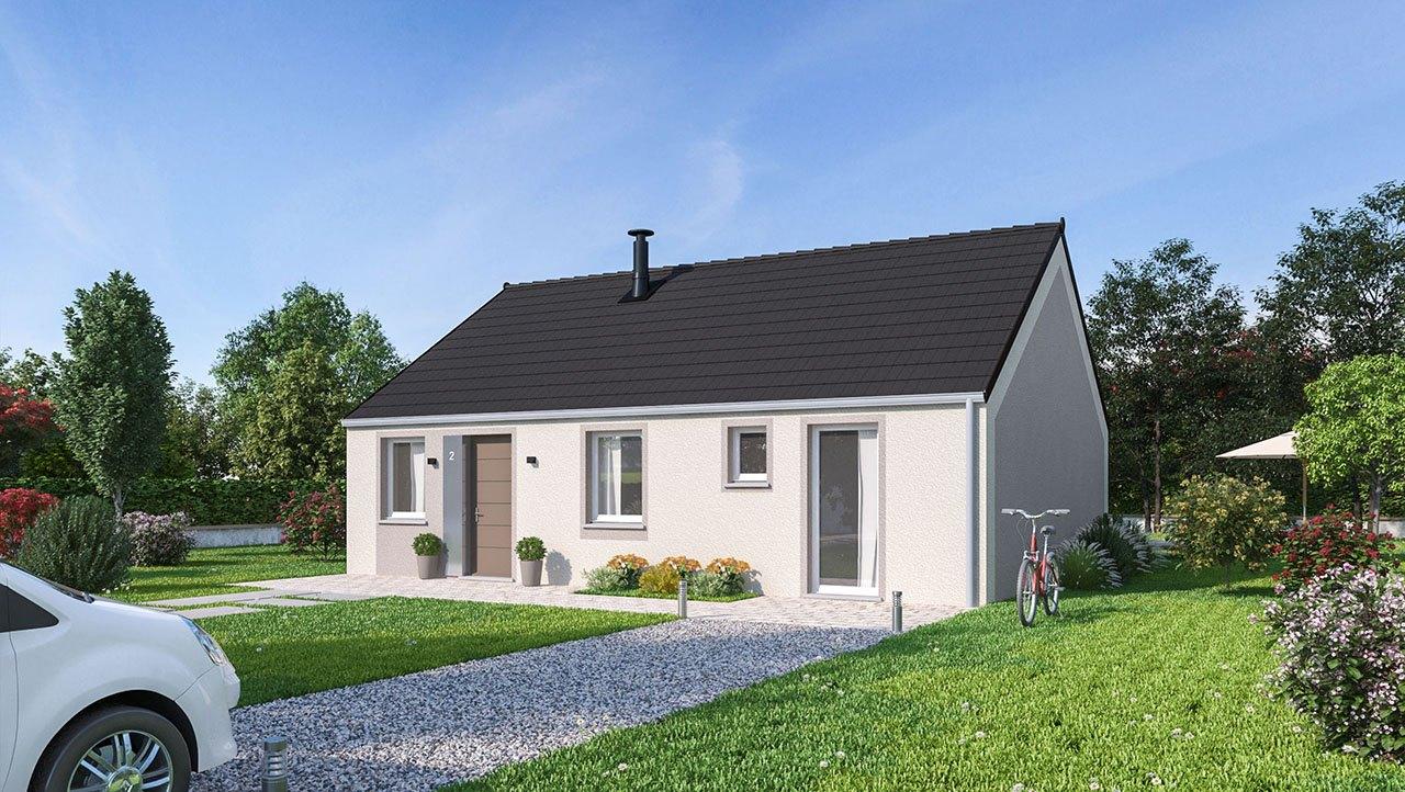 Maisons + Terrains du constructeur MAISONS PHENIX • 84 m² • AIRON NOTRE DAME