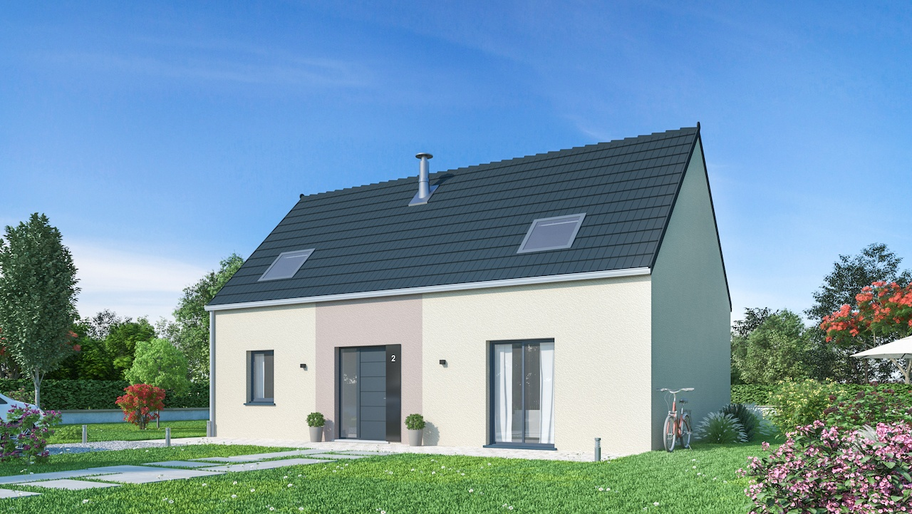 Maisons + Terrains du constructeur MAISONS PHENIX • 126 m² • AIRE SUR LA LYS