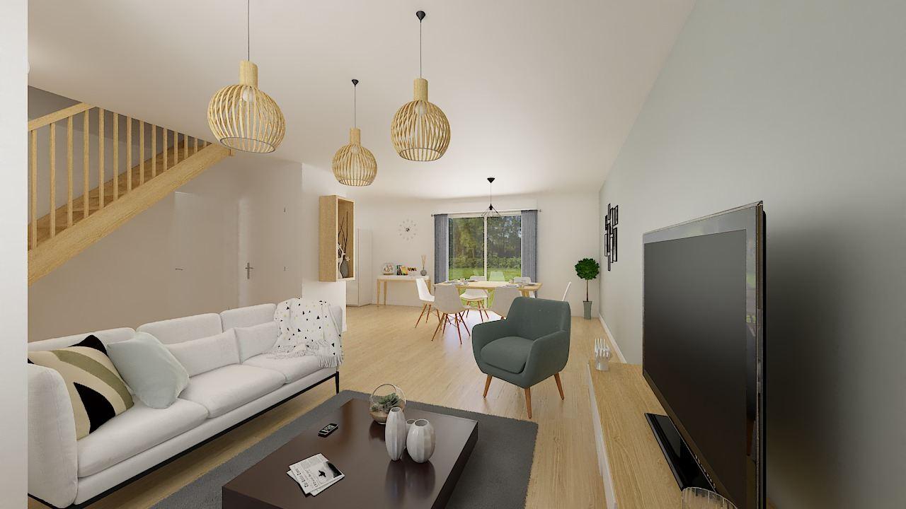 Maisons + Terrains du constructeur MAISONS PHENIX • 87 m² • OYE PLAGE