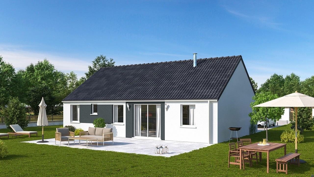 Maisons + Terrains du constructeur MAISONS PHENIX • 99 m² • MORINGHEM