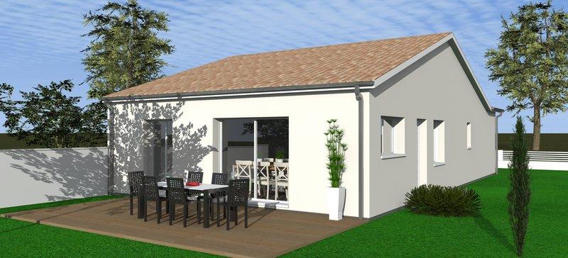 Maisons + Terrains du constructeur MAISONS BATI SUD • 90 m² • LE HAILLAN