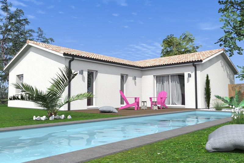 Maisons + Terrains du constructeur MAISONS BATI SUD • 104 m² • LE TAILLAN MEDOC