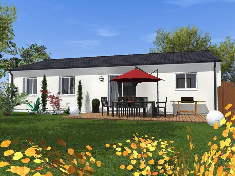 Maisons + Terrains du constructeur MAISONS BATI SUD • 105 m² • SAINT AUBIN DE MEDOC