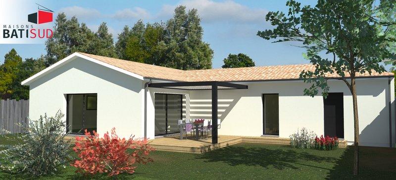 Maisons + Terrains du constructeur MAISONS BATI SUD • 115 m² • SAINT MEDARD EN JALLES