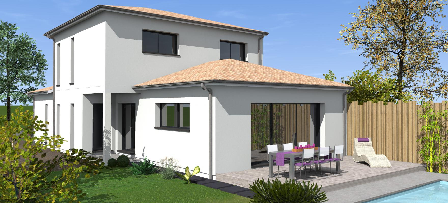 Maisons + Terrains du constructeur MAISONS BATI SUD • 150 m² • LA TESTE DE BUCH