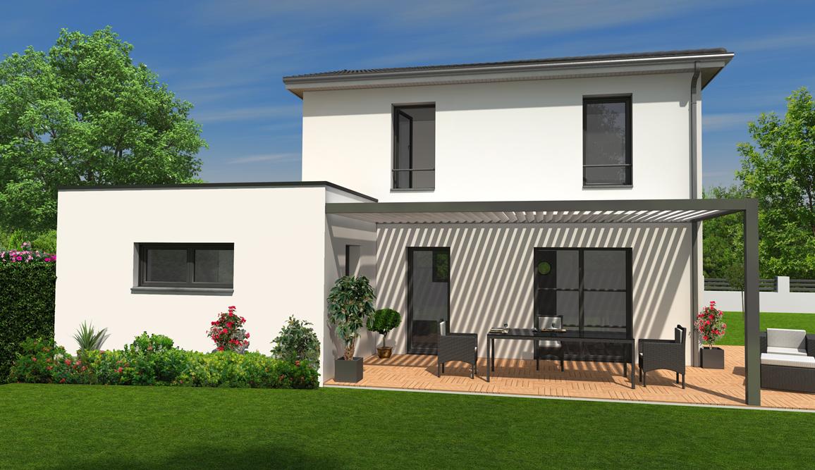 Maisons + Terrains du constructeur MAISONS BATI SUD • 100 m² • LANTON