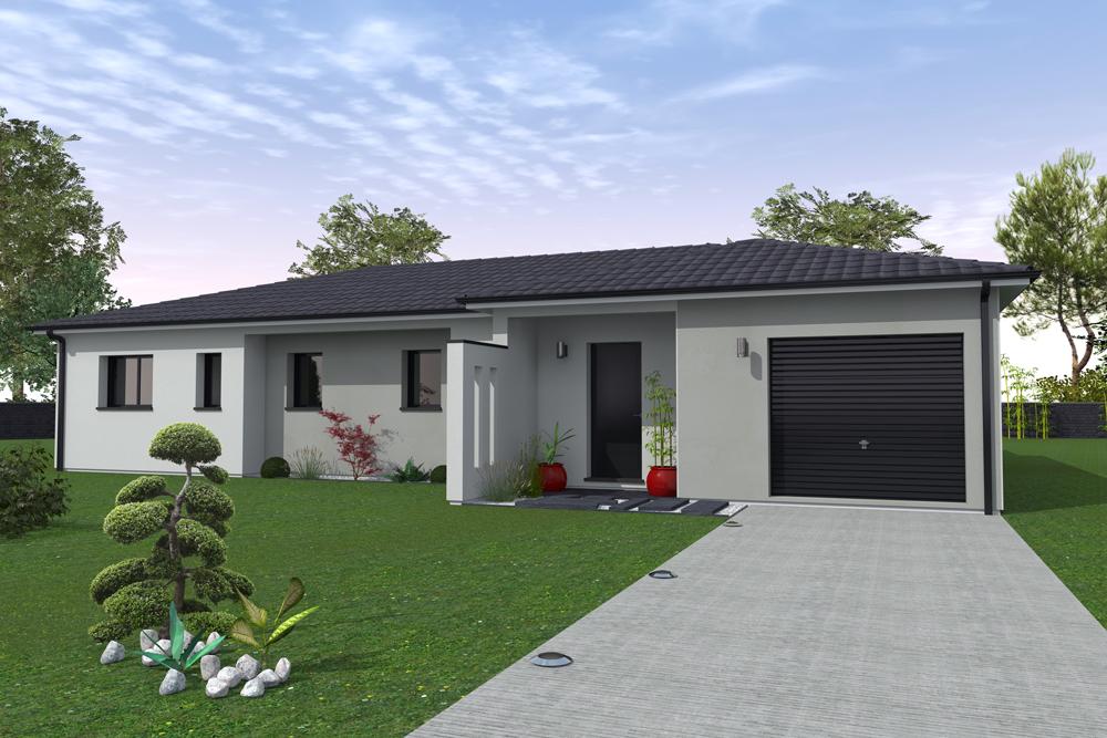 Maisons + Terrains du constructeur MAISONS BATI SUD • 120 m² • SAINT AUBIN DE MEDOC