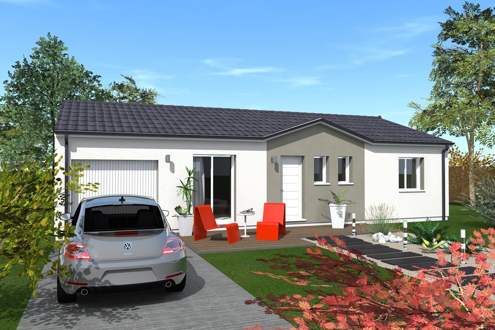 Maisons + Terrains du constructeur MAISONS BATI SUD • 95 m² • VIRELADE
