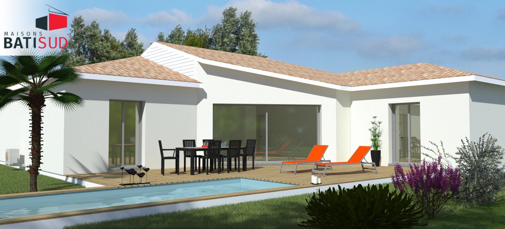 Maisons + Terrains du constructeur MAISONS BATI SUD • EYSINES