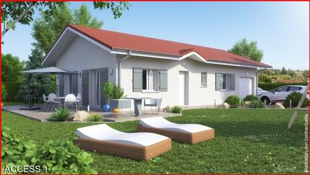 Maisons du constructeur MCA ALBERTVILLE • 90 m² • ALLONDAZ