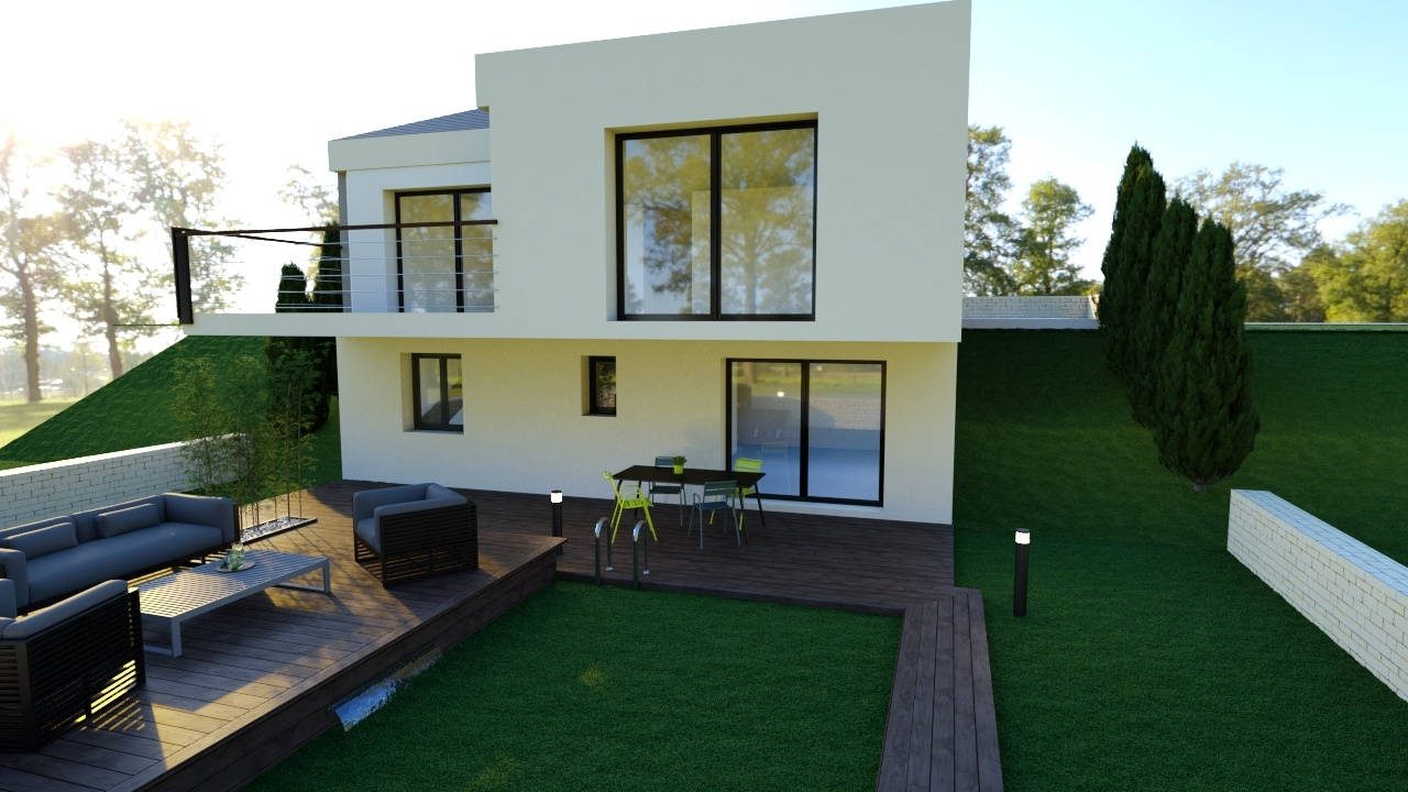 Maisons + Terrains du constructeur Maison Familiale Metz • 128 m² • SIERCK LES BAINS