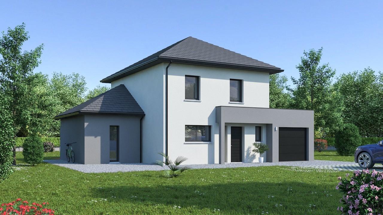Maisons + Terrains du constructeur Maison Familiale Metz • 128 m² • EVRANGE