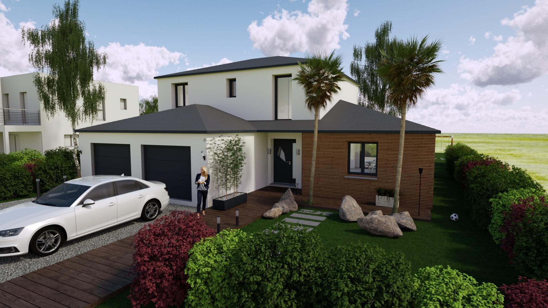 Maisons + Terrains du constructeur Maison Familiale Metz • 143 m² • BERG SUR MOSELLE