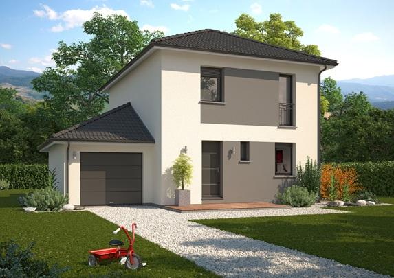 Maisons + Terrains du constructeur Maison Familiale Metz • 111 m² • SAINTE MARIE AUX CHENES
