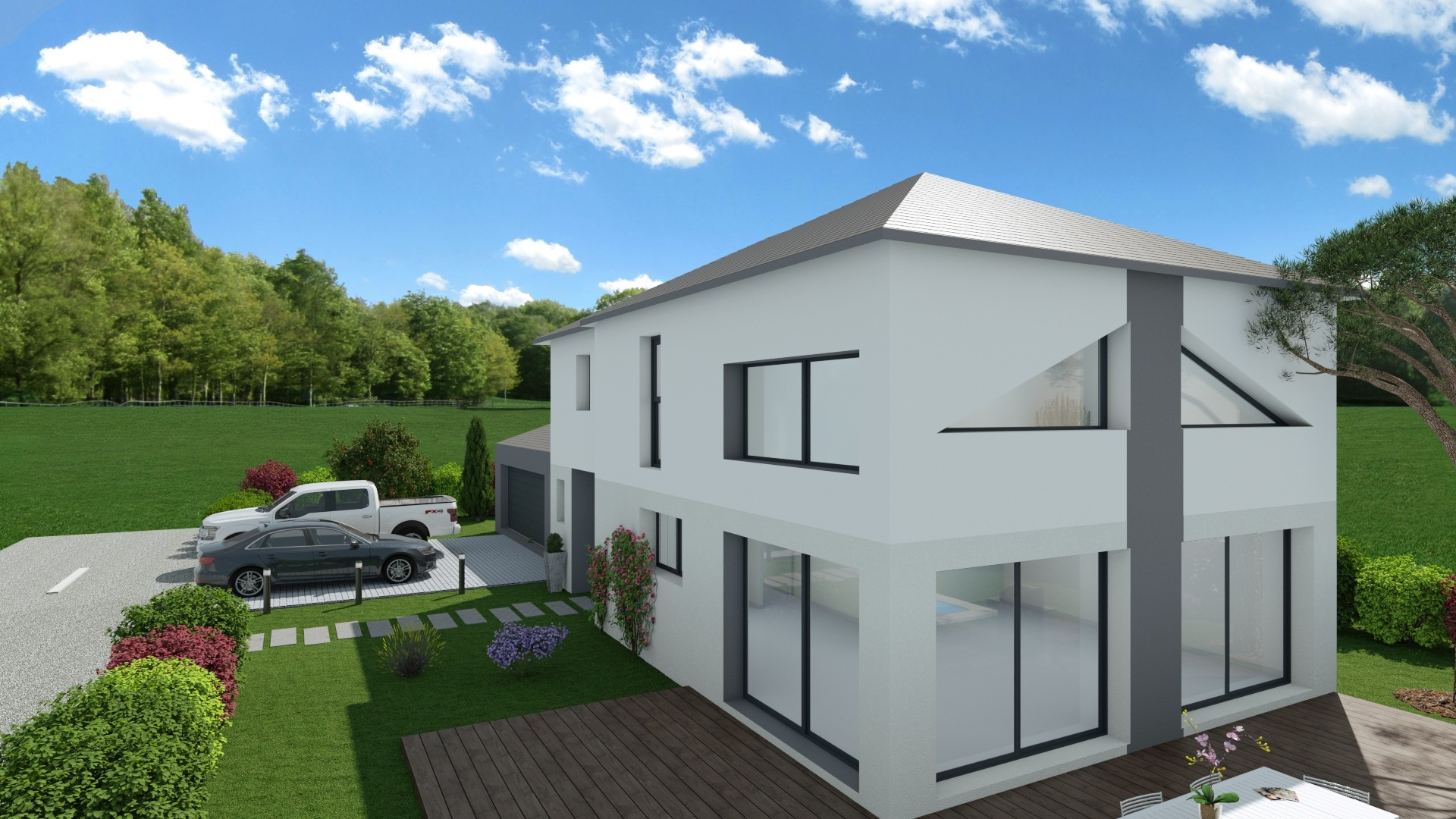 Maisons + Terrains du constructeur Maison Familiale Metz • 139 m² • CHAILLY LES ENNERY