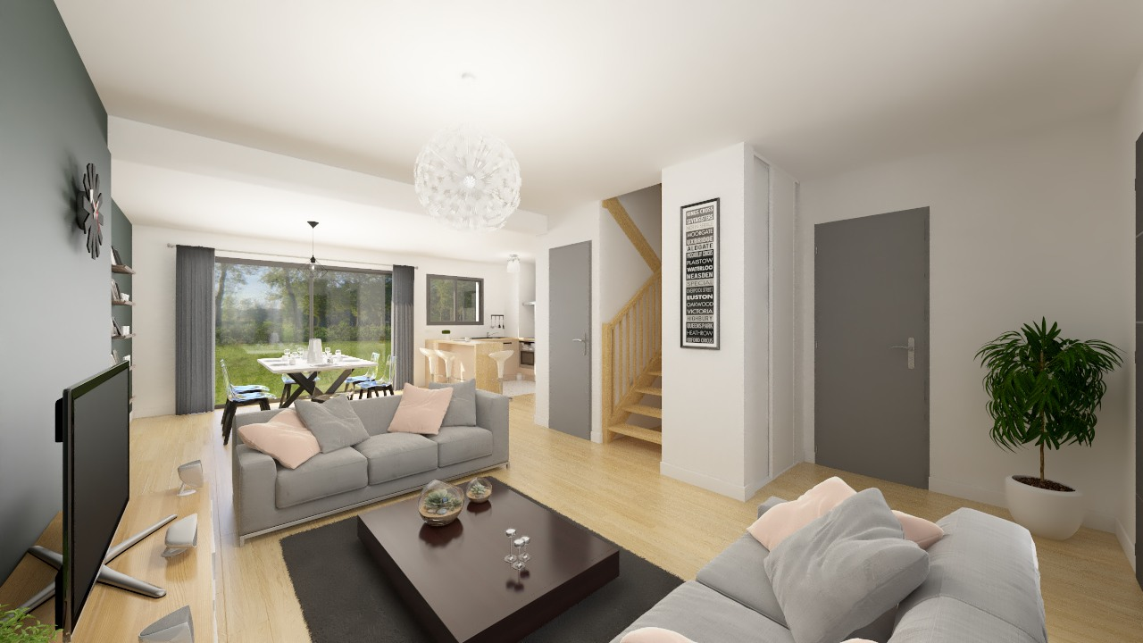 Maisons + Terrains du constructeur Maison Familiale Metz • 111 m² • SAULNY