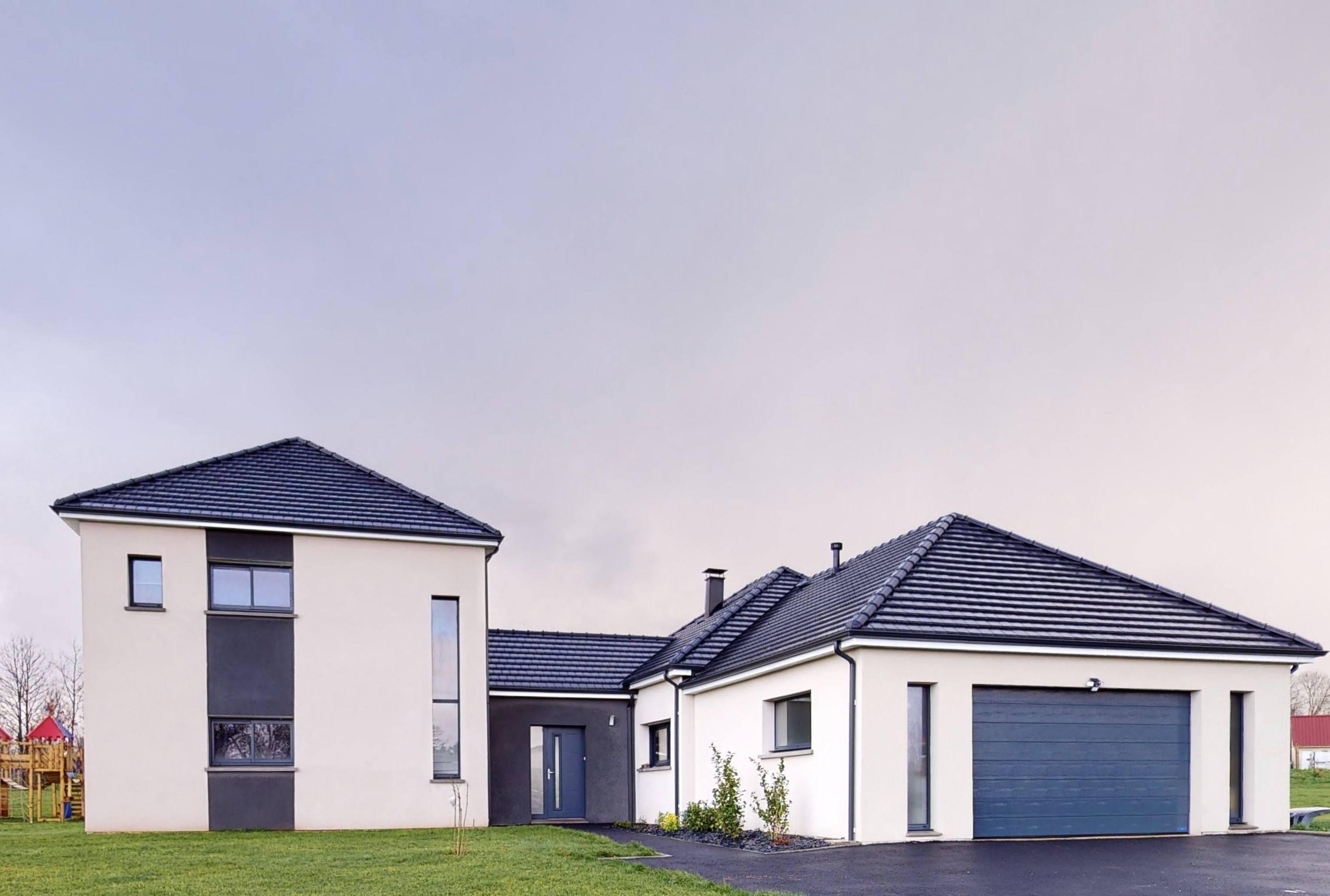 Maisons + Terrains du constructeur Maison Familiale Metz • 173 m² • COURCELLES CHAUSSY