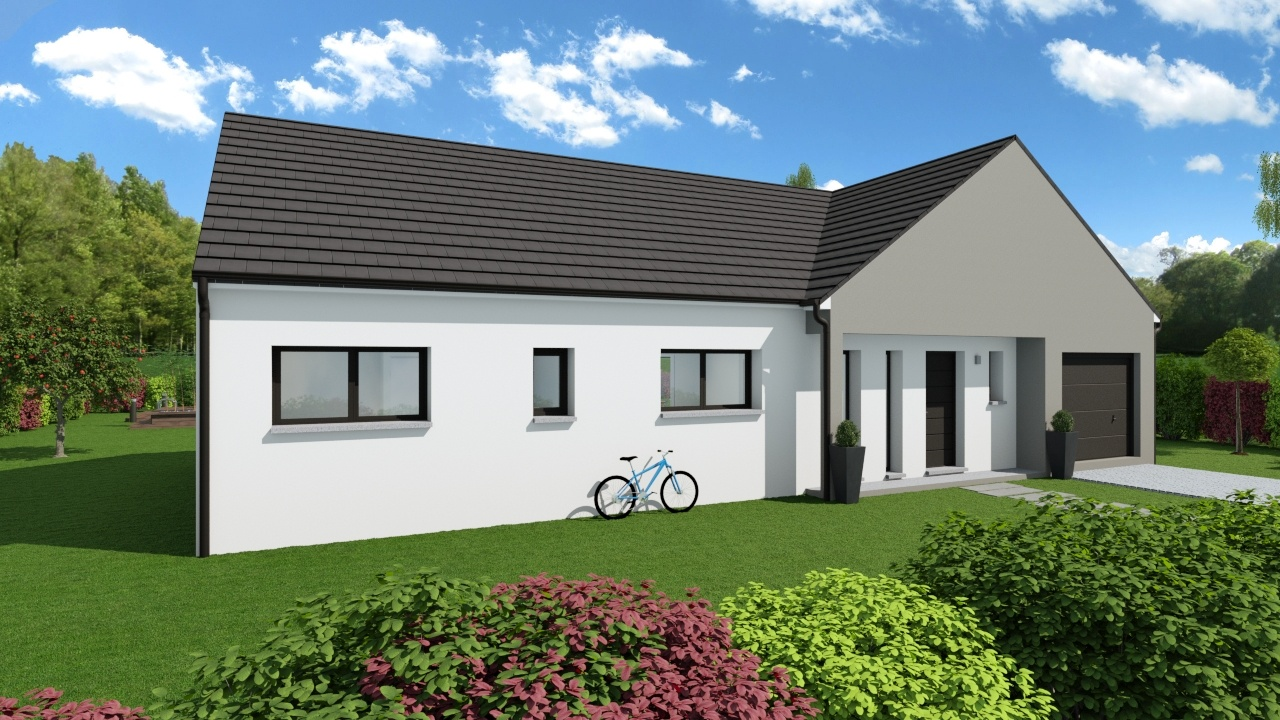Maisons + Terrains du constructeur Maison Familiale Metz • 110 m² • LOUVIGNY