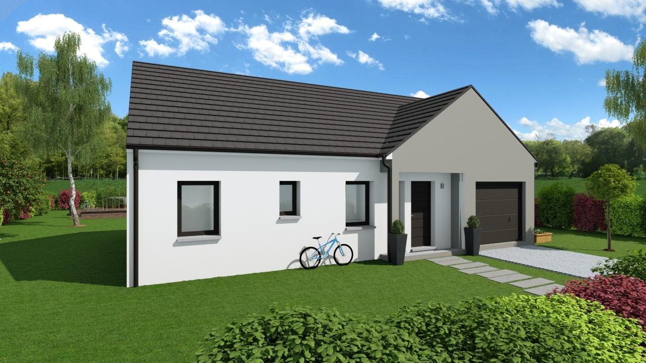 Maisons + Terrains du constructeur Maison Familiale Metz • 80 m² • CHARLY ORADOUR