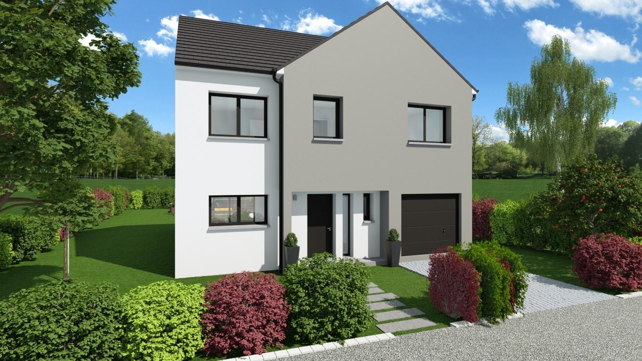 Maisons + Terrains du constructeur Maison Familiale Metz • 144 m² • REMILLY