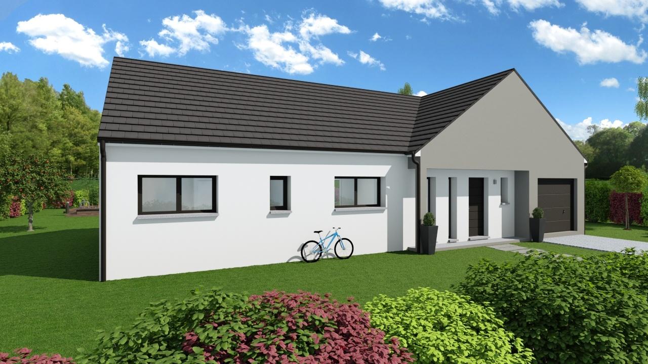 Maisons + Terrains du constructeur Maison Familiale Metz • 110 m² • SAULNY