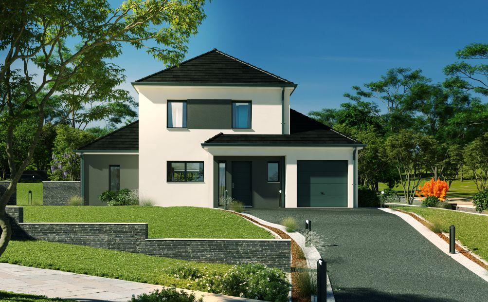 Maisons + Terrains du constructeur Maison Familiale Metz • 128 m² • METZERESCHE