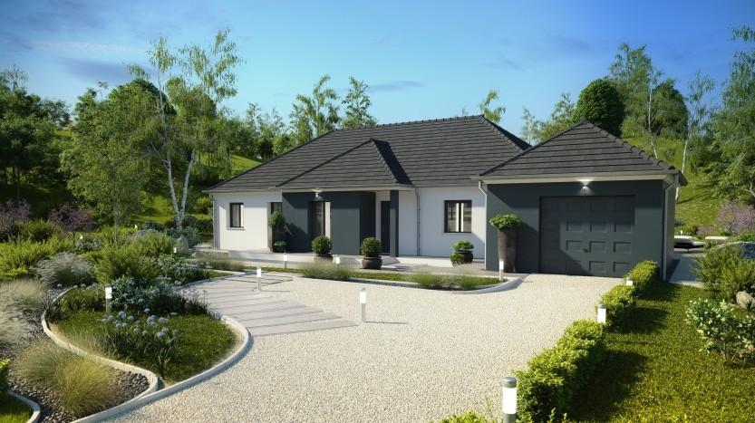 Maisons du constructeur MAISONS PIERRE  ANGERS • 132 m² • MURS ERIGNE