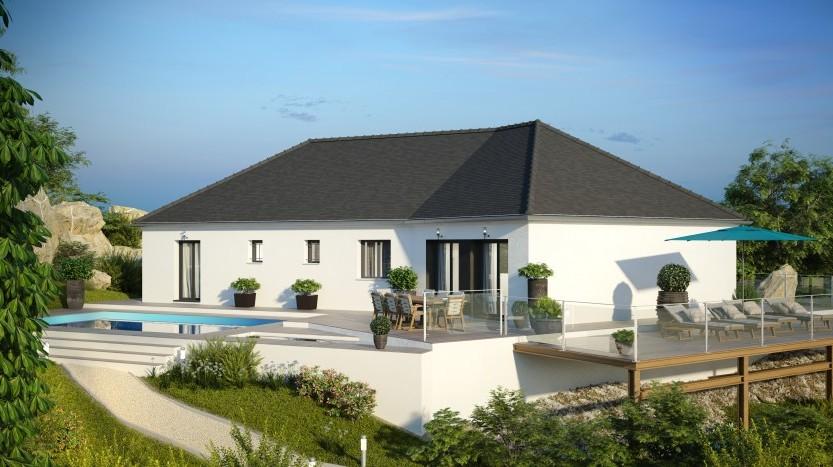 Maisons du constructeur MAISONS PIERRE  ANGERS • 136 m² • MOZE SUR LOUET