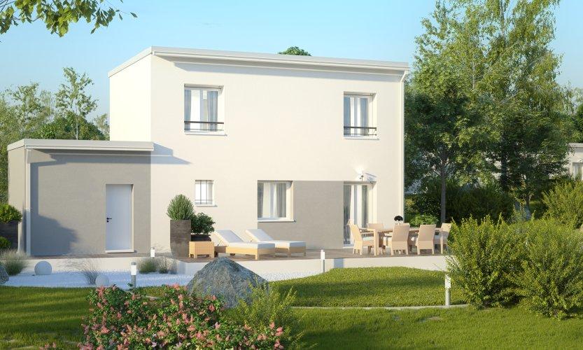 Maisons du constructeur MAISONS PIERRE  ANGERS • 87 m² • MURS ERIGNE