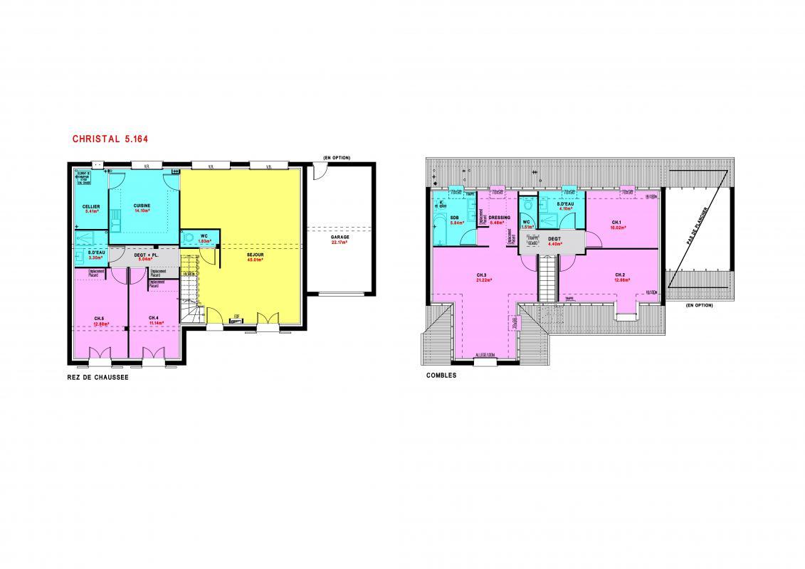 Maisons du constructeur MAISONS PIERRE  ANGERS • 165 m² • MONTREUIL JUIGNE