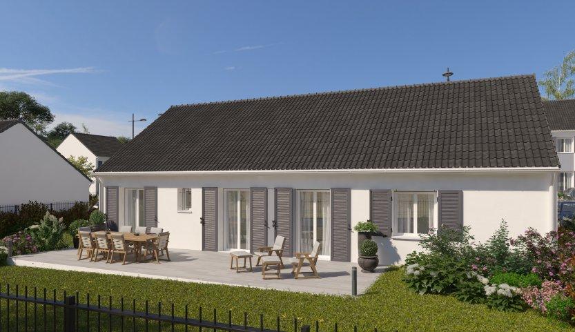 Maisons du constructeur MAISONS PIERRE  ANGERS • 99 m² • MONTREUIL JUIGNE