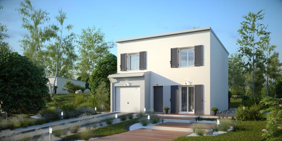 Maisons du constructeur MAISONS PIERRE  ANGERS • 96 m² • SAINT CHRISTOPHE DU BOIS