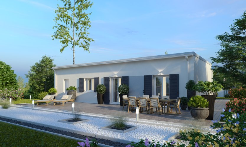 Maisons du constructeur MAISONS PIERRE  ANGERS • 93 m² • LE LOUROUX BECONNAIS
