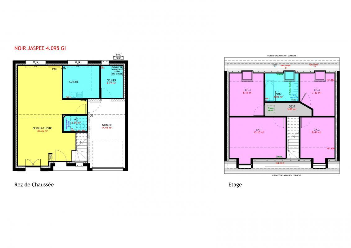 Maisons du constructeur MAISONS PIERRE MELUN • 95 m² • MELUN