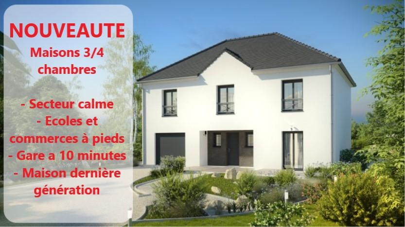 Maisons du constructeur MAISONS PIERRE MELUN • 152 m² • VENEUX LES SABLONS