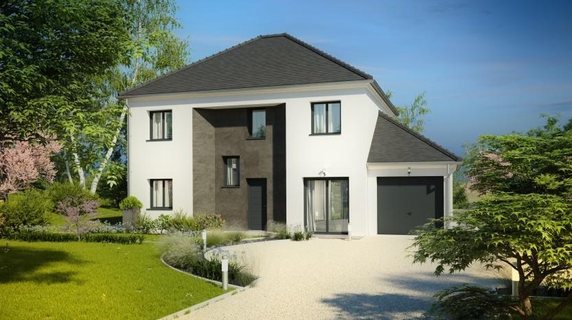 Maisons du constructeur MAISONS PIERRE MELUN • 133 m² • VENEUX LES SABLONS