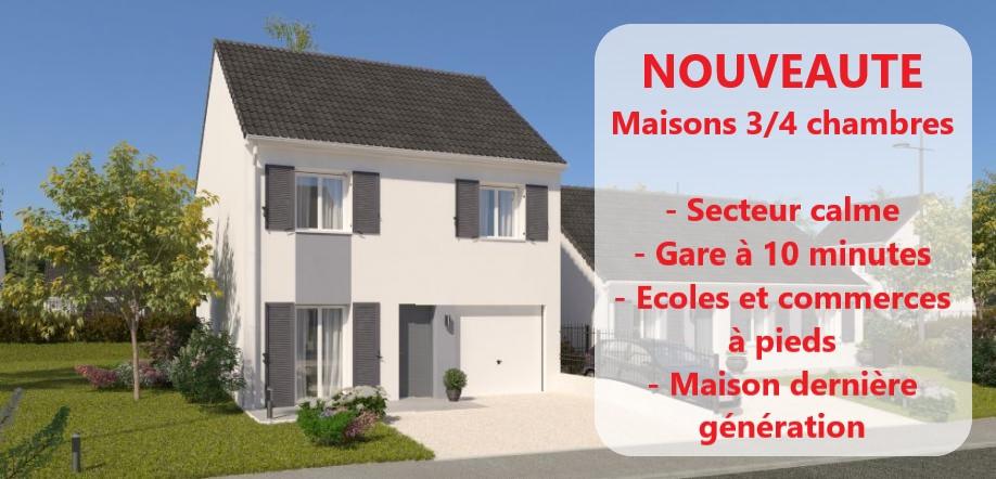 Maisons du constructeur MAISONS PIERRE MELUN • 87 m² • VENEUX LES SABLONS