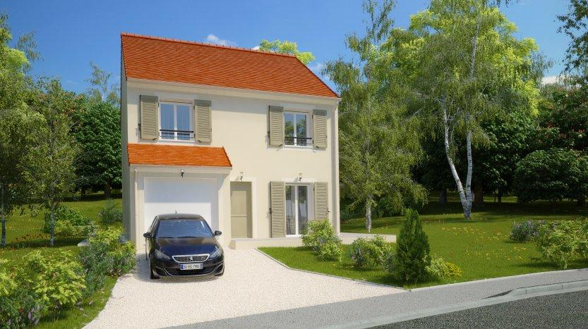 Maisons du constructeur MAISONS PIERRE MELUN • 96 m² • VAUX LE PENIL