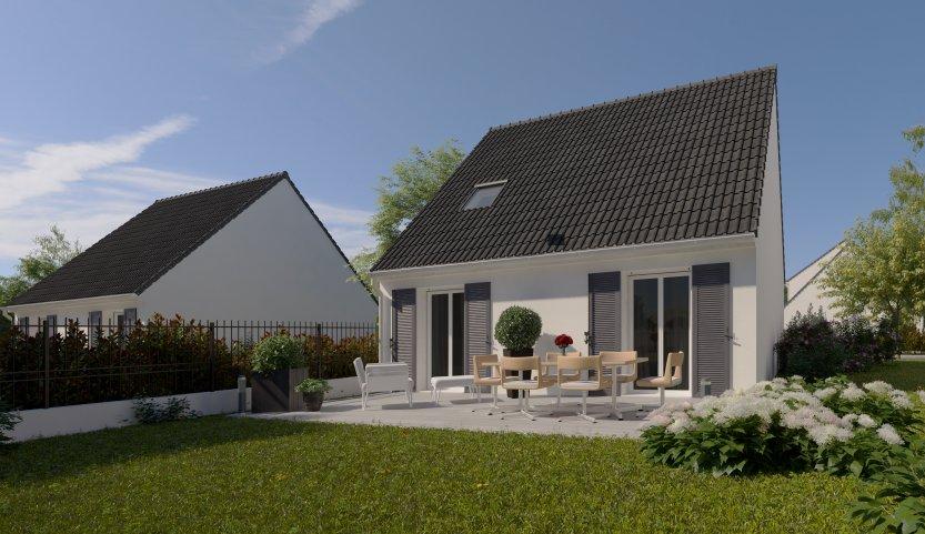 Maisons du constructeur MAISONS PIERRE MELUN • 81 m² • VAUX LE PENIL