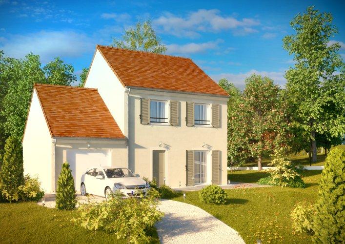 Maisons du constructeur MAISONS PIERRE STE GENEVIEVE DES BOIS • 92 m² • BOISSY SOUS SAINT YON