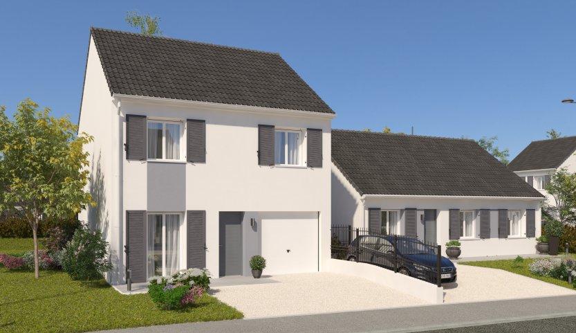 Maisons du constructeur MAISONS PIERRE STE GENEVIEVE DES BOIS • 87 m² • BRETIGNY SUR ORGE
