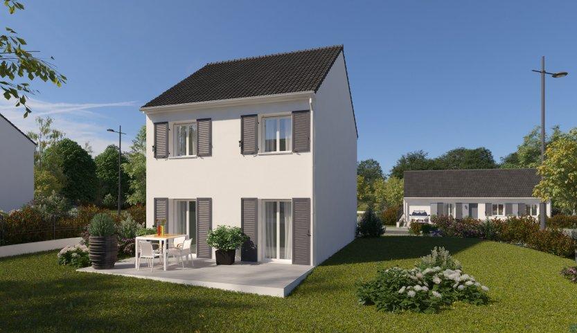 Maisons du constructeur MAISONS PIERRE STE GENEVIEVE DES BOIS • 88 m² • BRETIGNY SUR ORGE