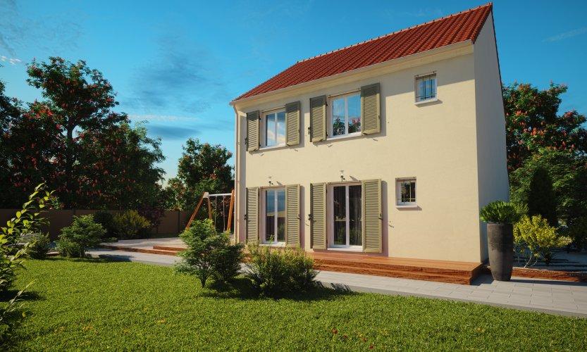 Maisons du constructeur MAISONS PIERRE STE GENEVIEVE DES BOIS • 87 m² • TIGERY