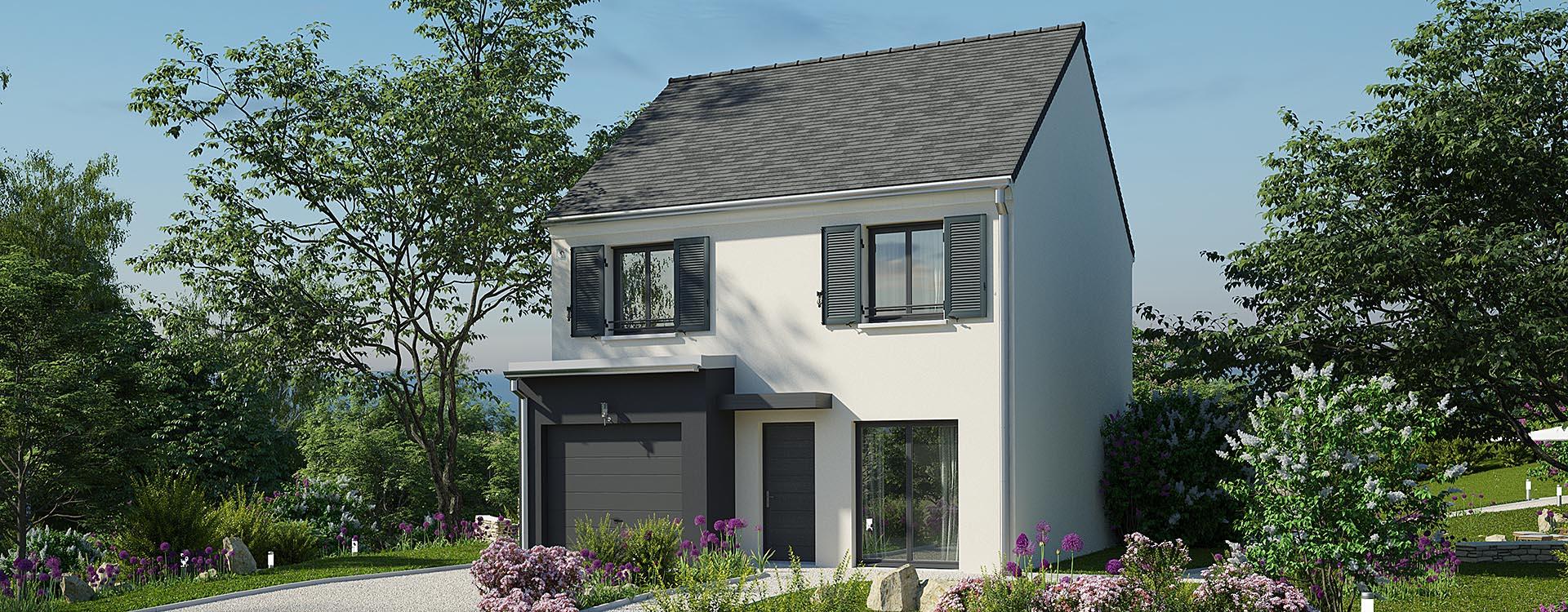 Maisons du constructeur MAISONS PIERRE STE GENEVIEVE DES BOIS • 90 m² • LARDY