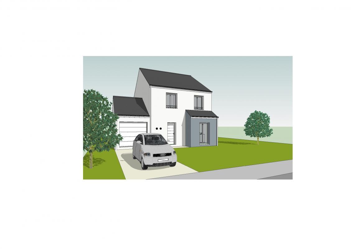 Maisons du constructeur MAISONS PIERRE STE GENEVIEVE DES BOIS • 96 m² • ANGERVILLE