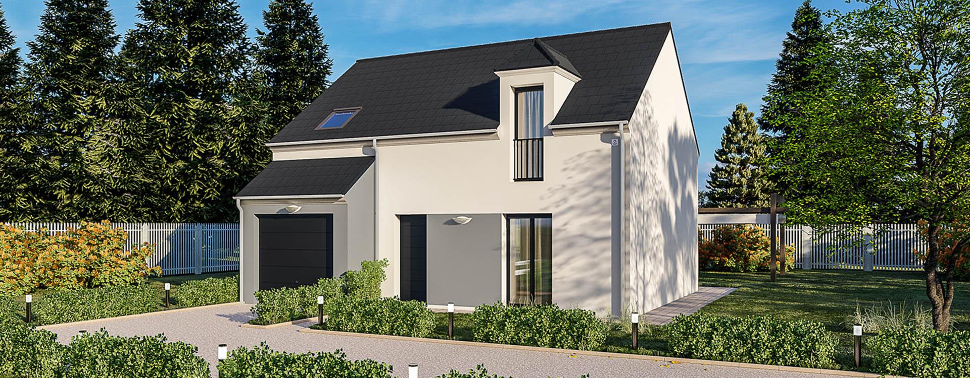 Maisons du constructeur MAISONS PIERRE STE GENEVIEVE DES BOIS • 94 m² • TIGERY