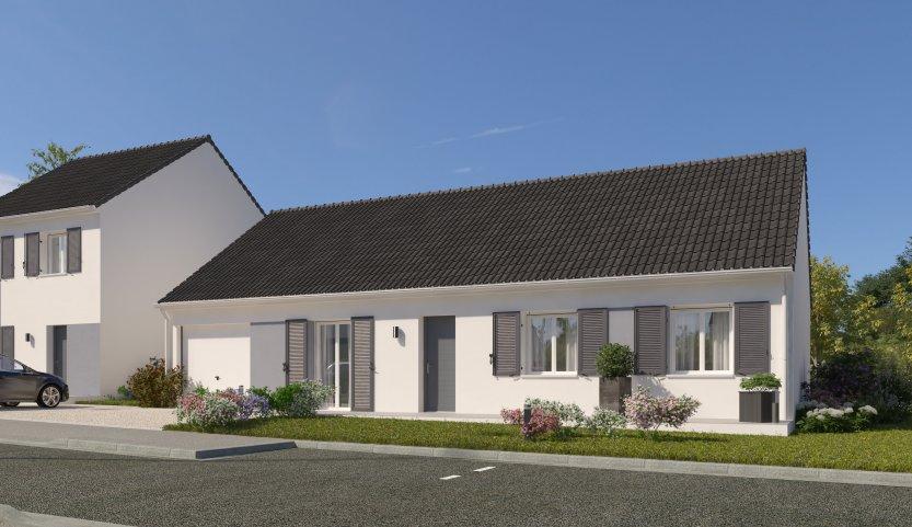 Maisons du constructeur MAISONS PIERRE PUISEUX PONTOISE • 99 m² • FRANCONVILLE