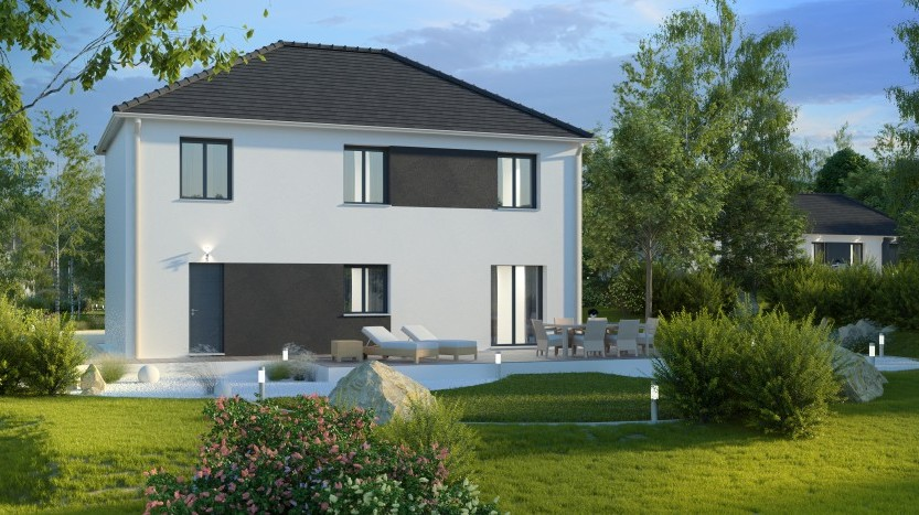 Maisons du constructeur MAISONS PIERRE PUISEUX PONTOISE • 108 m² • ABLEIGES
