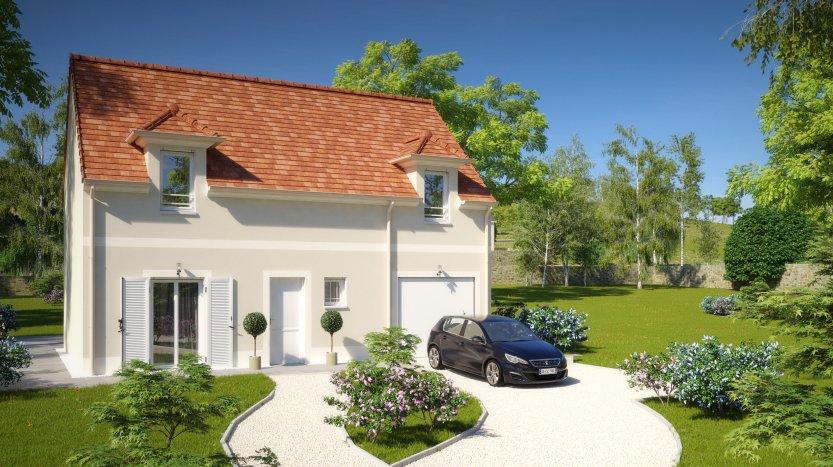 Maisons du constructeur MAISONS PIERRE PUISEUX PONTOISE • 96 m² • ABLEIGES