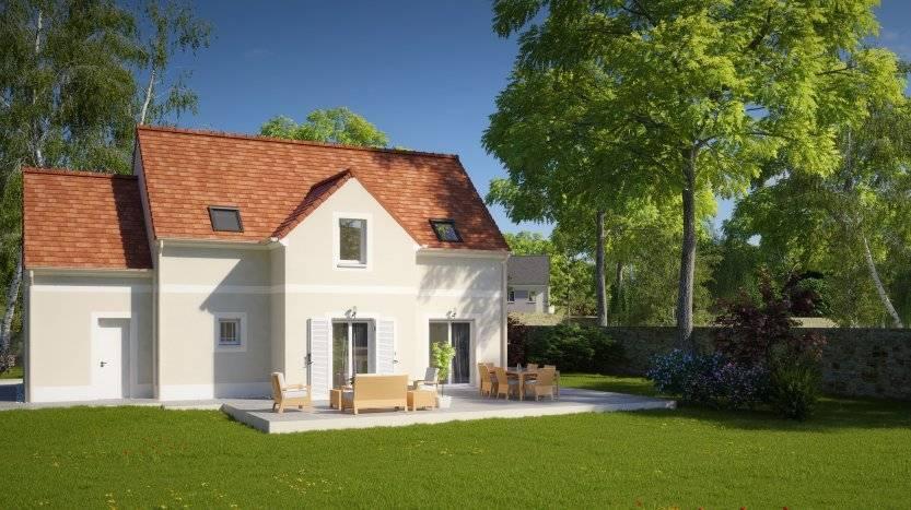 Maisons du constructeur MAISONS PIERRE PUISEUX PONTOISE • 111 m² • ABLEIGES